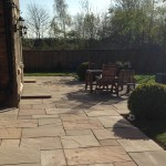 Lakeland natural stone paving.